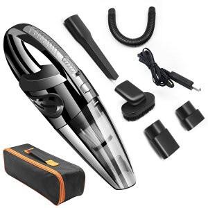 ハンディクリーナー USB充電式 R-6053 収納ケース付き(送料無料)掃除機 コードレス サイクロン 車 掃除器 ハンディークリーナー 軽量
