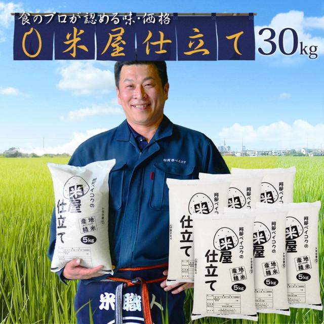 米 お米 30kg (5kg×6) 送料無料 (地域限定) 米屋仕立て 安い 30キロ 山形県産 白米