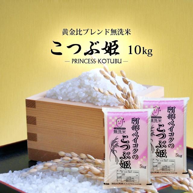 無洗米 10kg (5kg×2) 送料無料 (地域限定) こつぶ姫 安い 10キロ 山形県産 米 お米
