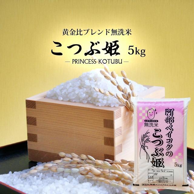 無洗米 5kg 送料無料 (地域限定) こつぶ姫 安い 5キロ 山形県産 米 お米 お試しサイズ