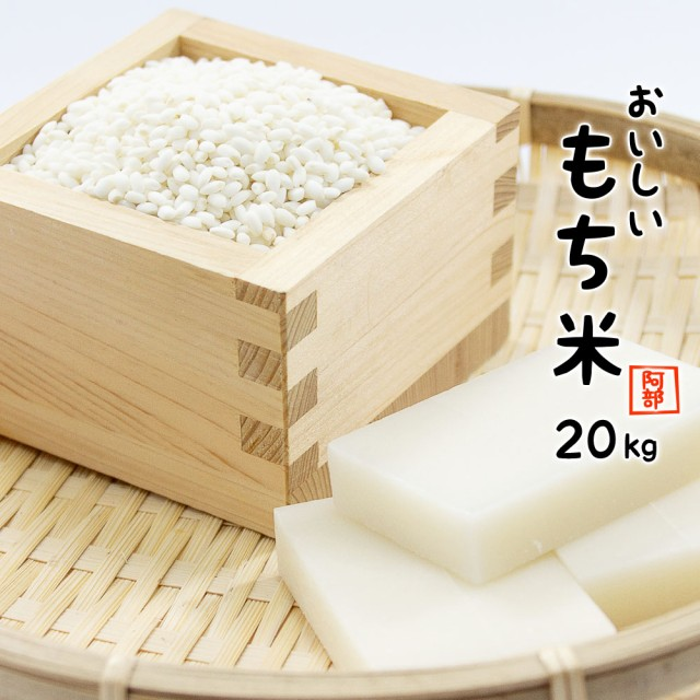 もち米 20kg (5kg×4袋) 令和元年産 国内産 餅米 山形県産 モチ米