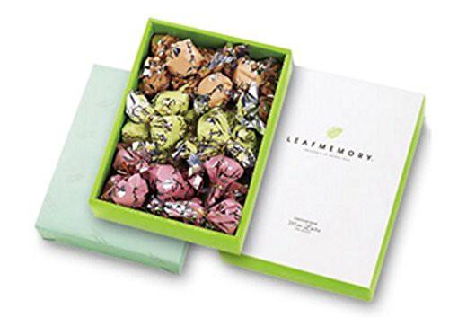 訳あり モンロワール リーフメモリー ギフト ボックス 27個 お菓子 葉っぱの形 送料無料 チルド便推奨 アウトレット