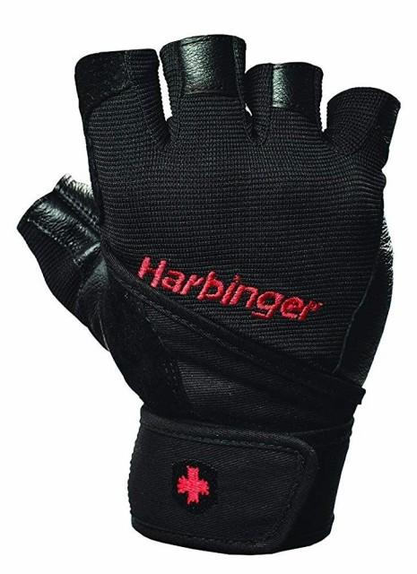 Harbinger ハービンジャー プロ リストラップ トレーニンググローブ ウエイトリフティンググローブ 輸入品