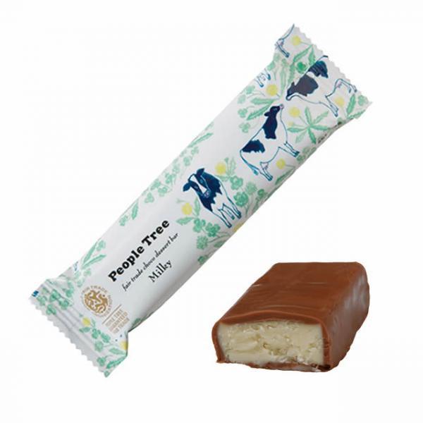 ピープルツリー オーガニック チョコデザートバー ミルキー