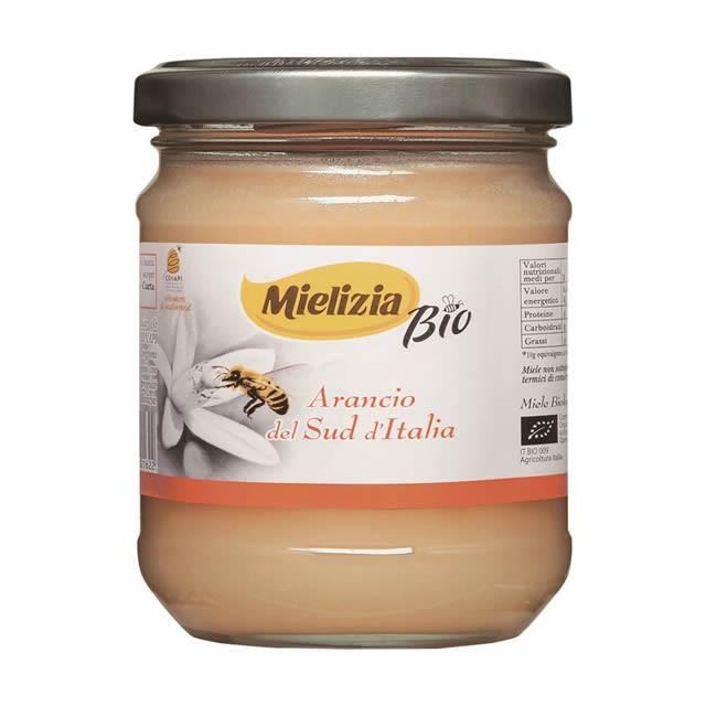 ミエリツィア オレンジの有機ハチミツ 250g