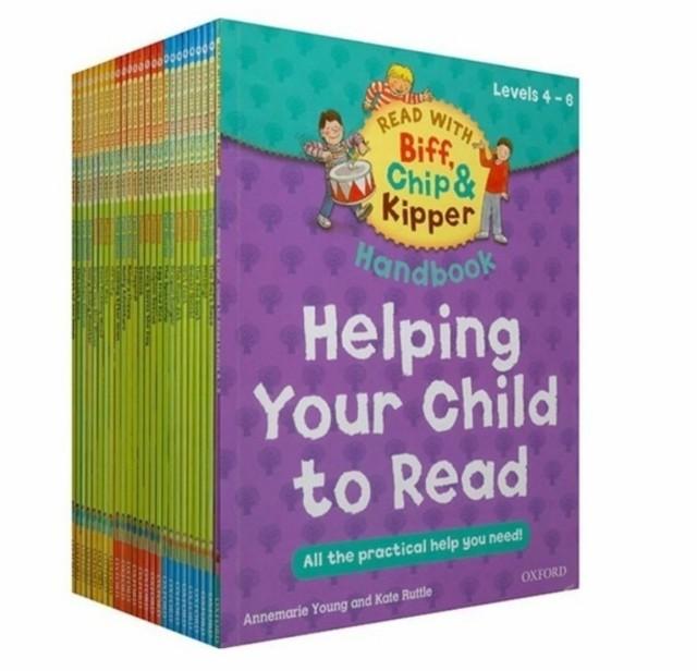 1セット25冊 オックスフォード リーディング ツリー Oxford Reading Tree レベル4-6 子供用練習用絵本 英語