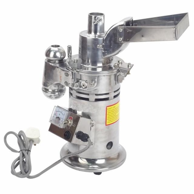 ハンマークラッシャー 小型連続粉砕機 ハンマーミル 20kg/h