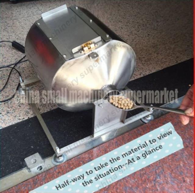 海外輸入品★ステンレスコーヒー焙煎機 コーヒー豆など 容量9リットル