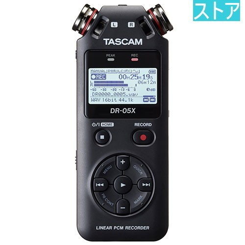 TASCAM DR-05X ポータブルステレオデジタルボイスレコーダー