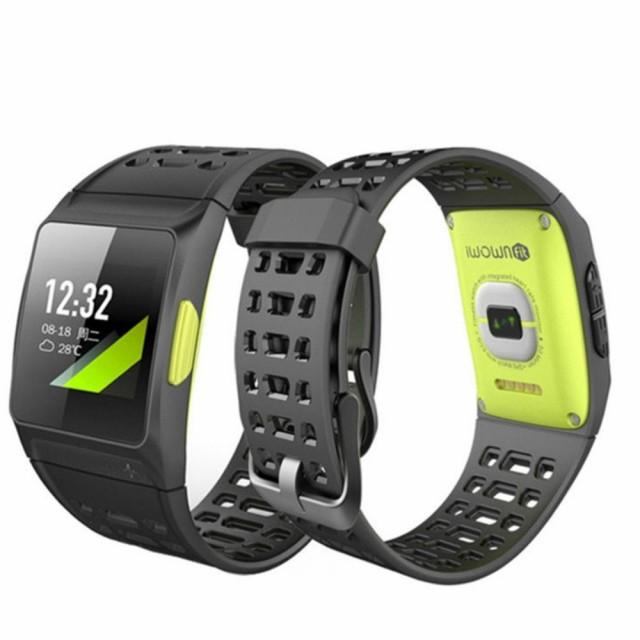 GPSスマートスポーツウォッチ 心拍数モニター屋内屋外フィットネストレーニングランニングアクティビティトラッカー
