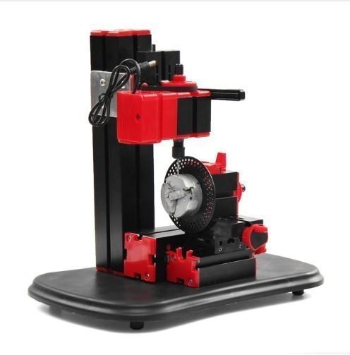 110ボルトー の 240ボルト ミニ 旋盤 ベンチ ドリル マシン diy 電動ドリル 木工モデル 作成ツール 旋盤 フライス 盤キット