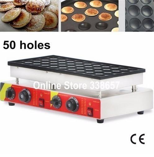 ミニパンケーキマシン ワッフルメーカー 業務用 50個作成可能 人気商品 効率的な熱伝導