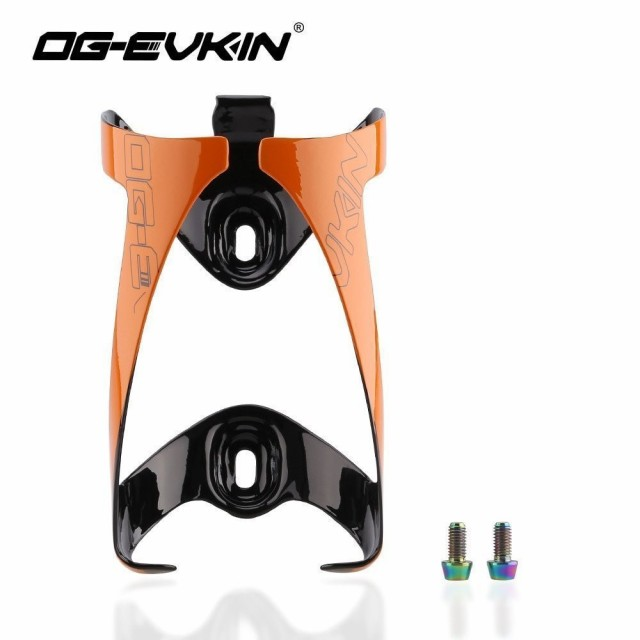 OG-EVKIN カーボン Bike Bottle Cages Titanium Alloy Lightweight Cycling MTB カーボン Water Bott
