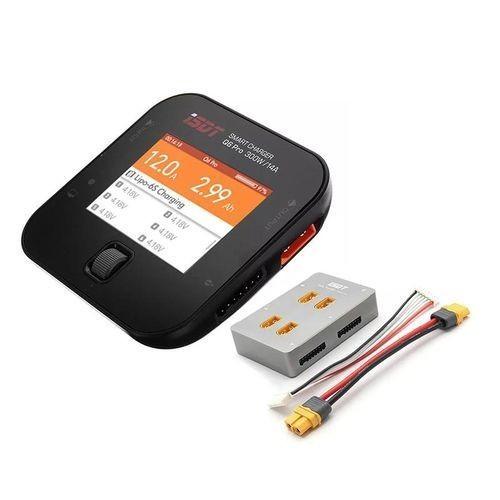 ISDT Q6 Pro BattGo 300 W 14 Aポケットバッテリーバランスチャージャー放電付きISDT PC-4860 1-8Sパラレル充電ボード