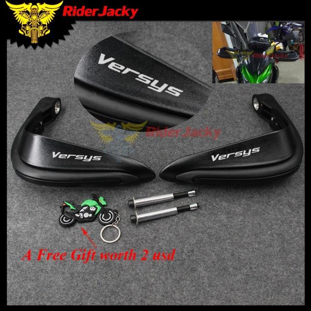 ユニバーサル 7/8 22 ミリメートルバイク Hand Guards プロテクターチェーングローブ川崎 Versys 650 2008-2012 VERSYS 1000 300X (650c