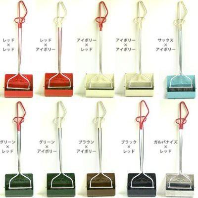 smilly set long handle スマイリーセットロングハンドル ほうき&ちりとり ほうき ホウキ ちりとり チリトリ 塵取り ブラシ 掃除 玄関