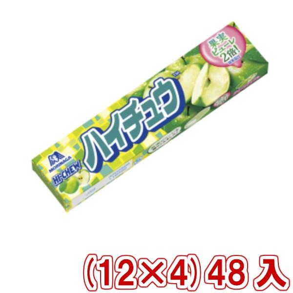 森永 ハイチュウ グリーンアップル (12×4)48入 (本州一部送料無料)