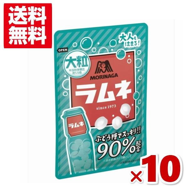 森永 41g大粒ラムネ 10入 (メール便全国送料無料)(ポイント消化)