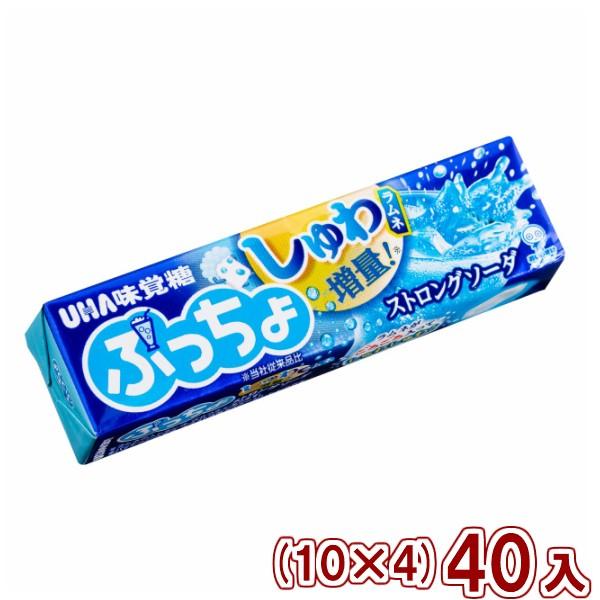 味覚糖 ぷっちょスティック ストロングソーダ (10×4)40入 (Y60) (本州一部送料無料)
