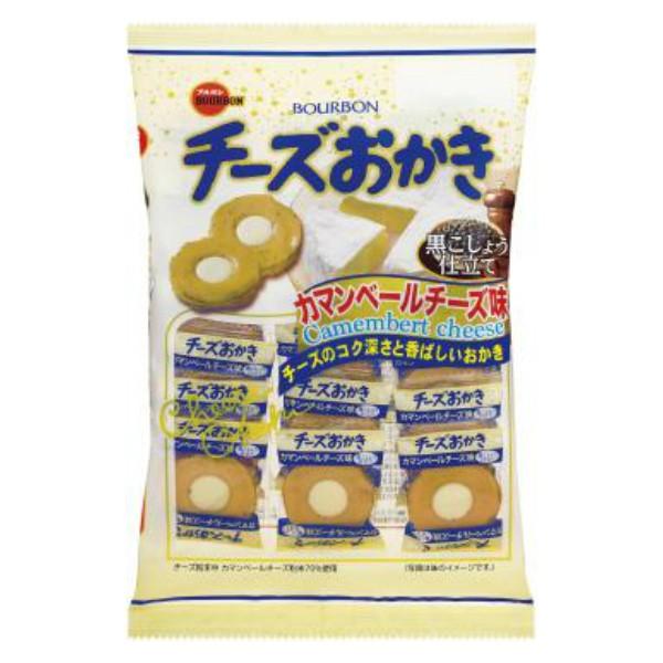 ブルボン チーズおかき カマンベールチーズ味 (6×4)24入 (Y10) (本州一部送料無料)