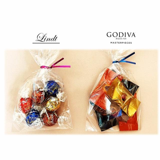 ゴディバ&リンツ リンドール チョコレート セット 14粒 コストコ お試し 送料無料 ポイント消化