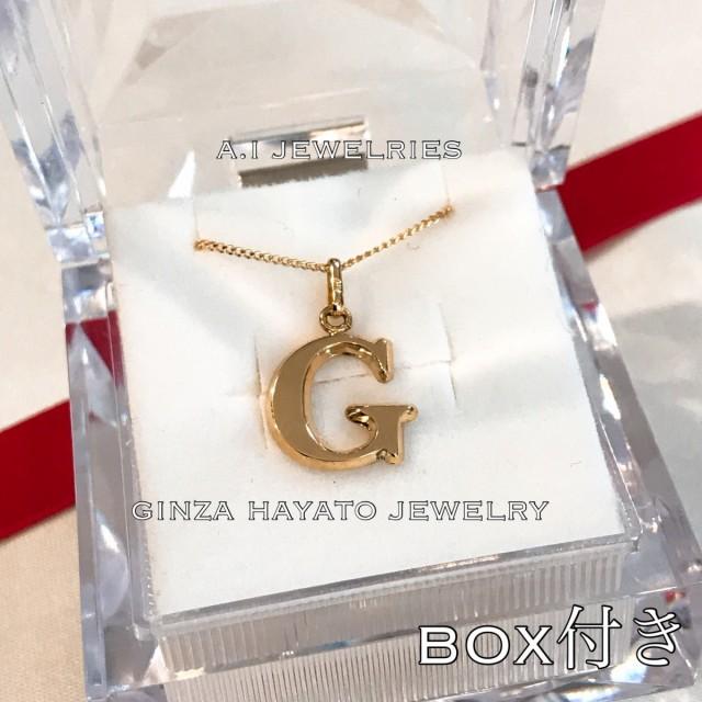 K18 18金 50cm 2面喜平 ネックレス 新品 イニシャル initial necklace