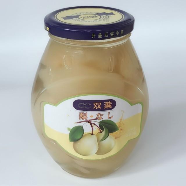 糖水雪梨 なし缶詰め シラップづけ ライト 580g中華食材 甘酸っぱい果物 冷凍商品と同梱不可