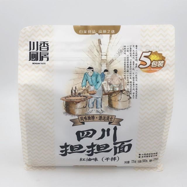 四川担担麺 紅油味 乾拌麺 即席麺 5食入り 750g 中華ラーメン インスタント麺 中華食材