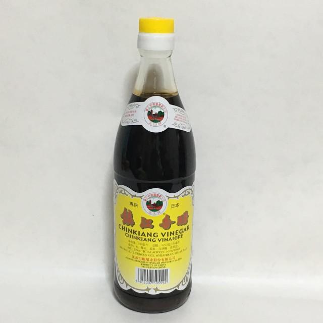 中国黒酢 鎮江香醋 550ml 中華調味料 中華食材 ギョウザタレ中国酢 水餃子に欠かせない