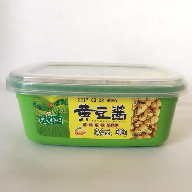 葱伴侶黄豆醤 みそ 無添加 中華調味料 300g