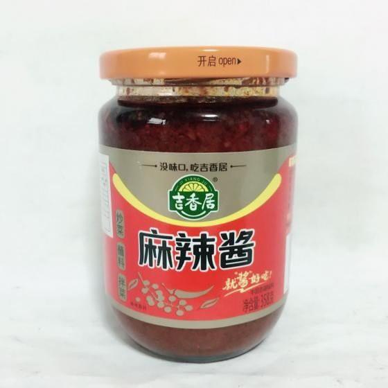 吉香居 麻辣醤 チリソース 358g 中華食材 中華辛口味噌