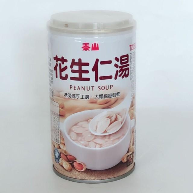 【予約販売】泰山 花生仁湯 320g ピーナッツスープ 台湾お土産 即席食 中華お粥