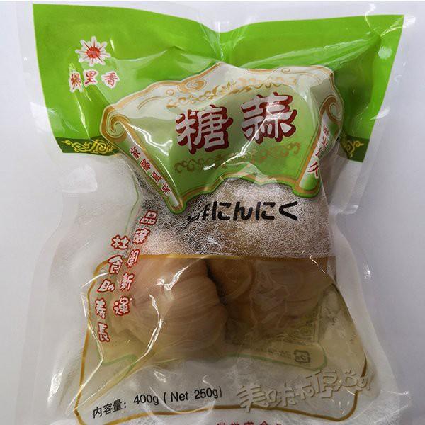 郷里香 糖蒜 甘酢にんにくホール 中華食材 大人気前菜料理