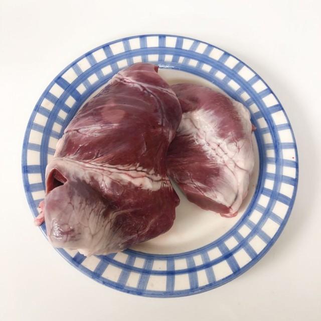 豚ハツ 豚の心臓 国産豚心 950g 焼き肉 BBQ バーベキュー用 心臓・ハツ 冷凍食品