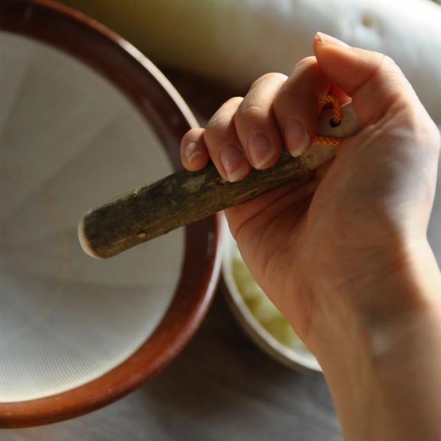 【予約販売】サンショすりこ木(小)山椒 さんしょう すりこ木棒 すりこぎ 山椒の木 天然木 おうちカフェ 手作り 日本製 国産 キッチ