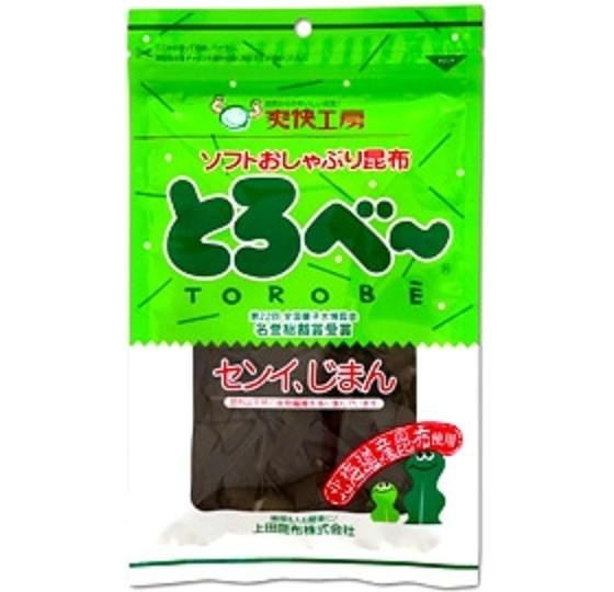 上田昆布 ソフトおしゃぶり昆布 とろべー 25gX1袋