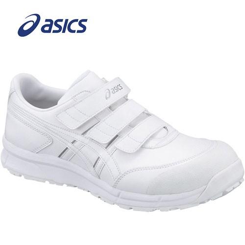 アシックス FCP301-0101 安全靴 ウィンジョブ CP301 ホワイト×ホワイト