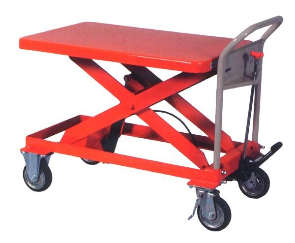 ハマコS.S HLH-500L 油圧足踏式テーブルリフト台車