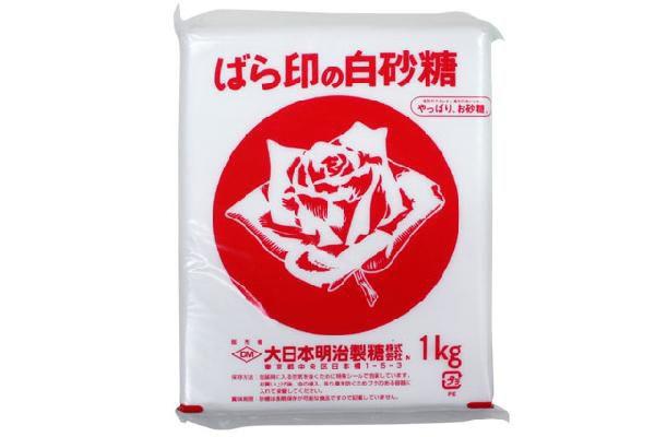ばら印の上白糖 1kg 【ミルクフランス】