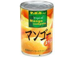 マンゴースライス(シロップ漬け・ライト) 425g【N】