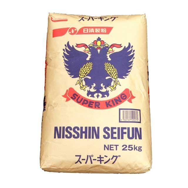 【送料無料】【同梱不可】【代引き不可】最強力粉スーパーキング(日清製粉) 25kg
