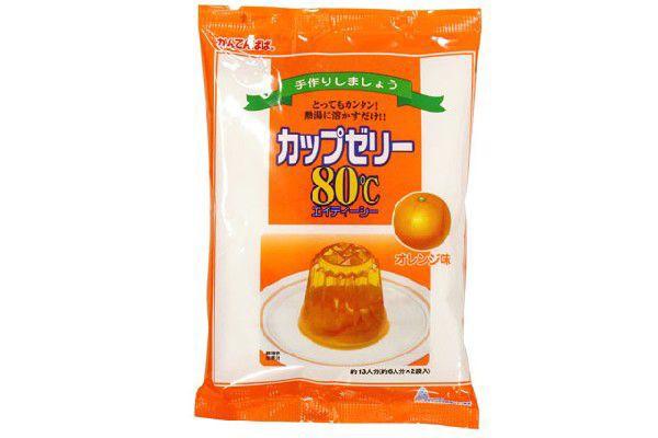 カップゼリー オレンジ 100g×2入(かんてんぱぱ)