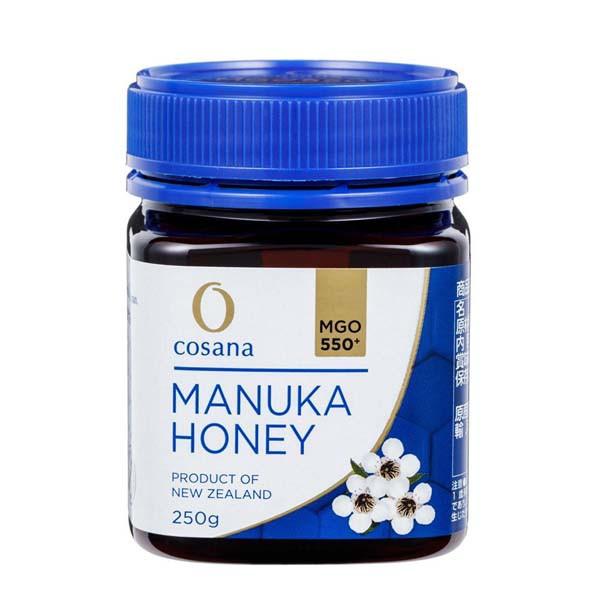 コサナ マヌカハニーMGO550+ 250g 蜂蜜 ハチミツ はちみつ マヌカ スーパーフード