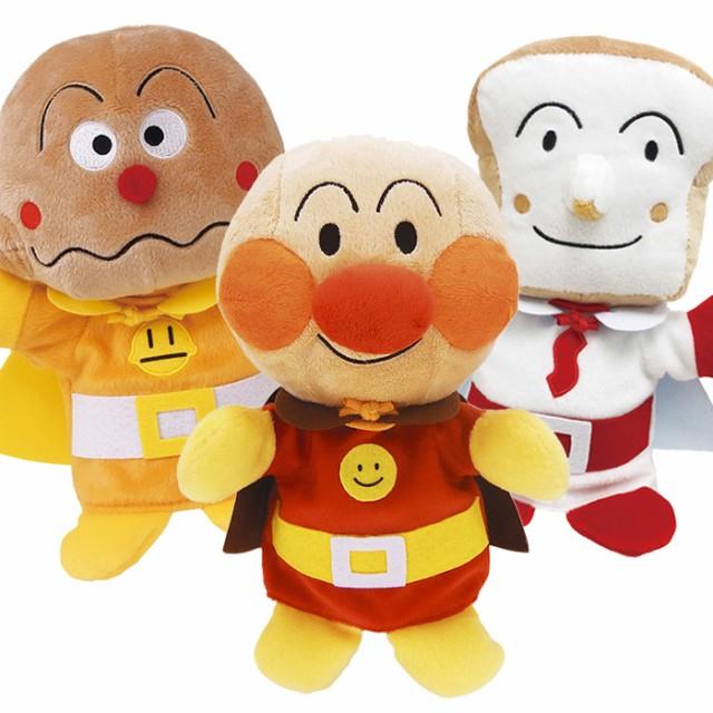 アンパンマンハンドパペット ソフト 手踊り人形 正義の味方3人セット アンパンマン カレーパンマン しょくぱんまん セガトイズ