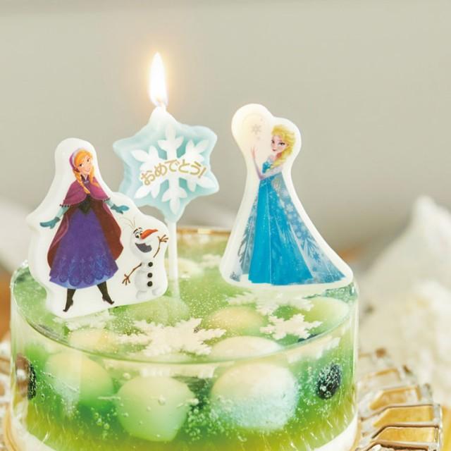 ディズニー アナと雪の女王 パーティーキャンドル