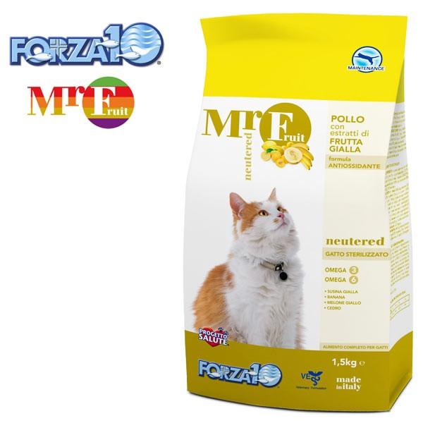 フォルツァ10 ミスターフルーツ 避妊・去勢 400g キャットフード 成猫 猫 アダルト FORZA10