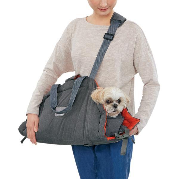 セール 3WAYチャオズクーハンキャリー レッド大 犬 猫 キャリー スリング バッグ かわいい お出かけ 通院 便利 ペット ペピイ PEPPY