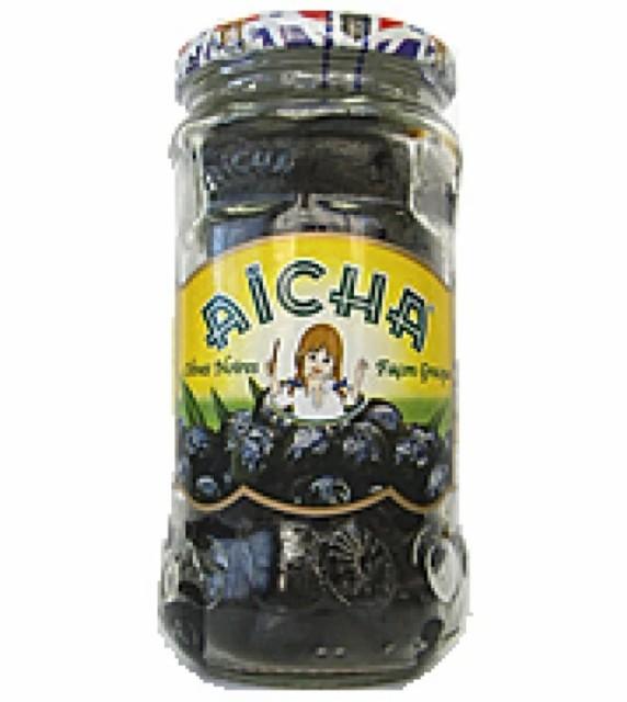 ギリシャ風ブラックオリーブ【種抜き】 (オリーブオイル&塩漬) 230g 地中海料理 地中海食品 緑オリーブ 黒オリーブ 塩 ハーブ