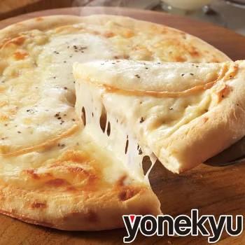 スモーク薫る 5種のチーズピザ 冷凍 4枚入り もちもち 家飲み お昼ごはん ランチ ブルーチーズ ソース スカモルツァ ゴーダ ステッペン