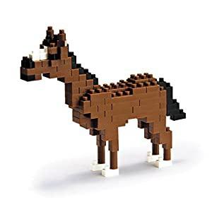 Kawada NBS-005 nanoblock Mini Animal Horse